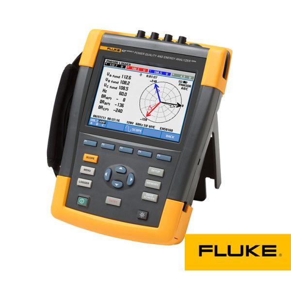 FLUKE-437-II، پاورآنالایزر پرتابل، پاورآنالایزر پرتابل فلوک، پاورانالایزر پرتابل فلوک