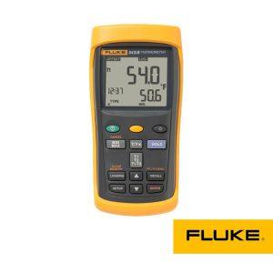ترمومتر لیزری ورودی دوگانه FLUKE 52IIB، ترمو متر لیزری
