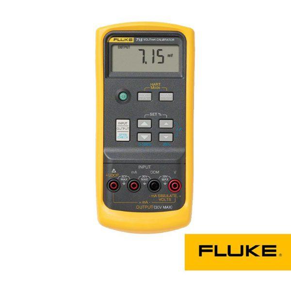 کالیبراتور ولتاژ و جریان fluke ، کالیبره کردن ولتمتر