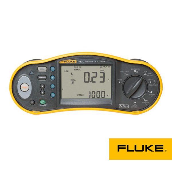 تستر مولتی فانکشن میگر Fluke 1653B،تستر مقاومت زمین، تست اتصال کوتاه